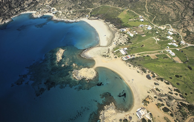 пляж манганари
