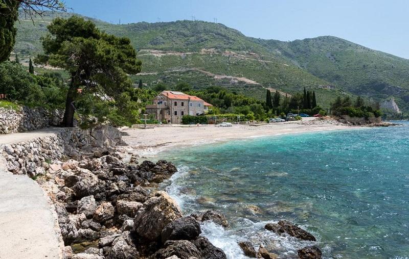 пляж млини хорватия