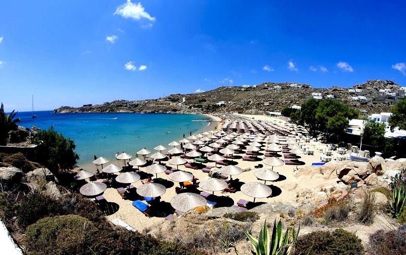 пляж парадайз миконос