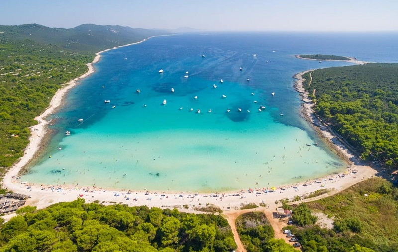 пляж сахарун хорватия