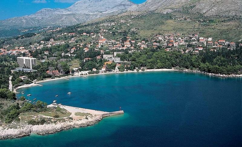пляж сребрено хорватия