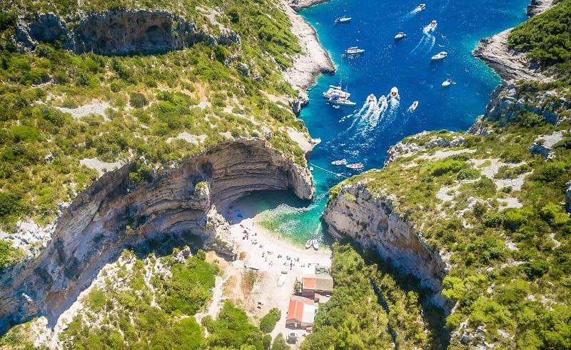 пляж стинива хорватия