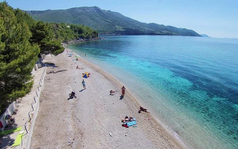 пляж трстеница