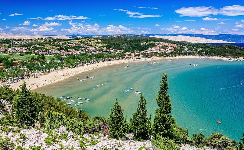 райский пляж хорватия