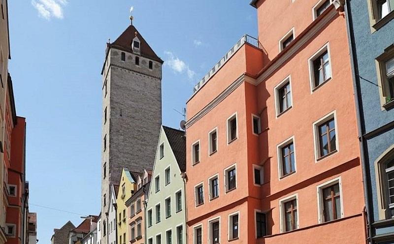 родовая башня гамбургеров регенсбург