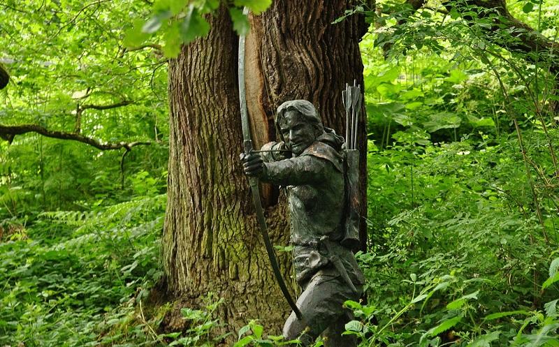 шервудский лес ноттингем