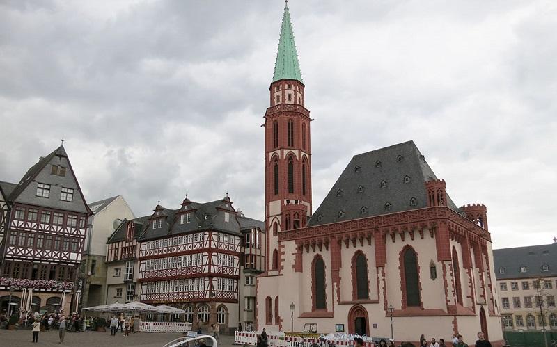 старая церковь святого николая франкфурт