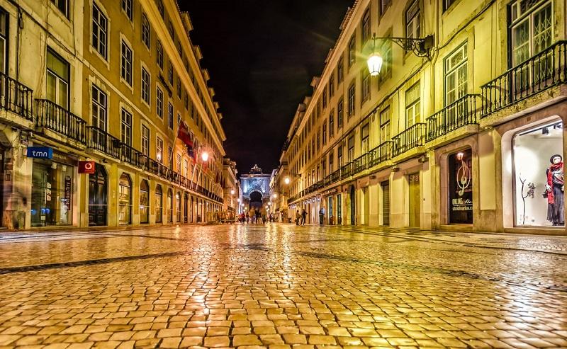 улица аугушта лиссабон