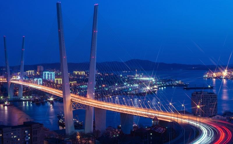 вантовый мост владивосток