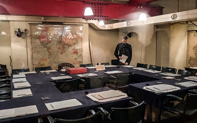 военные комнаты черчилля