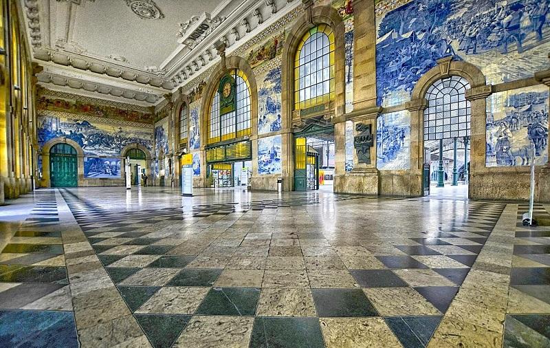 вокзал сан-бенту порту