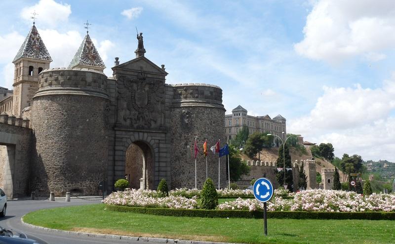 ворота бисагра толедо