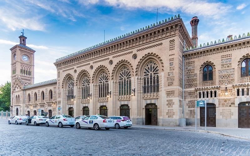 железнодорожный вокзал толедо