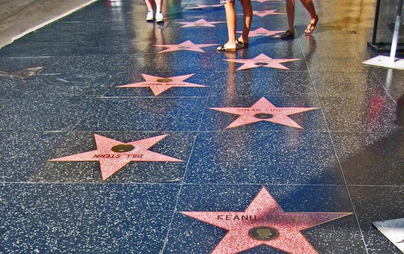 аллея звёзд в голливуде