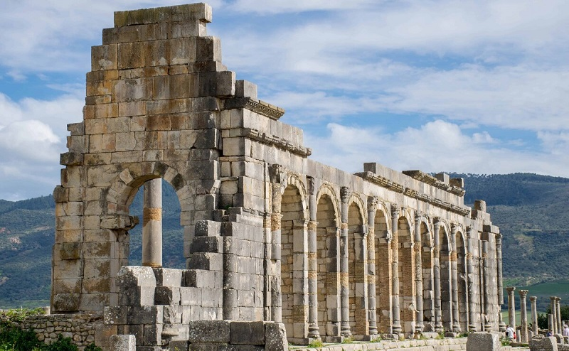 археологические памятники волюбилиса