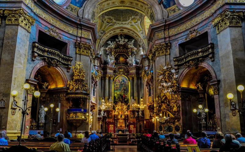 церковь святого петра вена