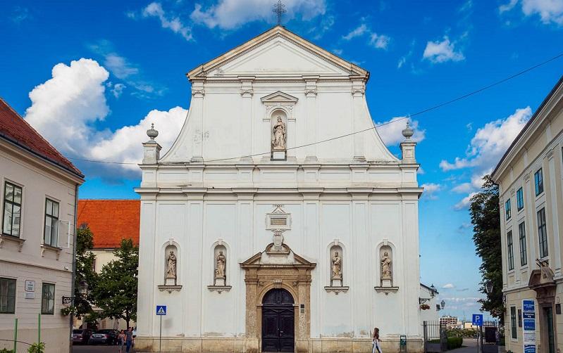 церковь святой екатерины загреб