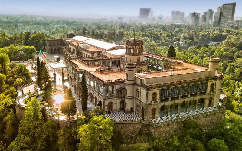 чапультепекский дворец мексика