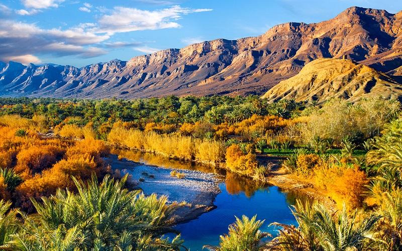 долина реки драа