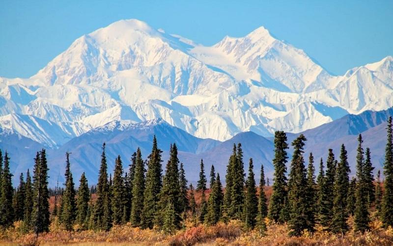 гора мак-кинли аляска