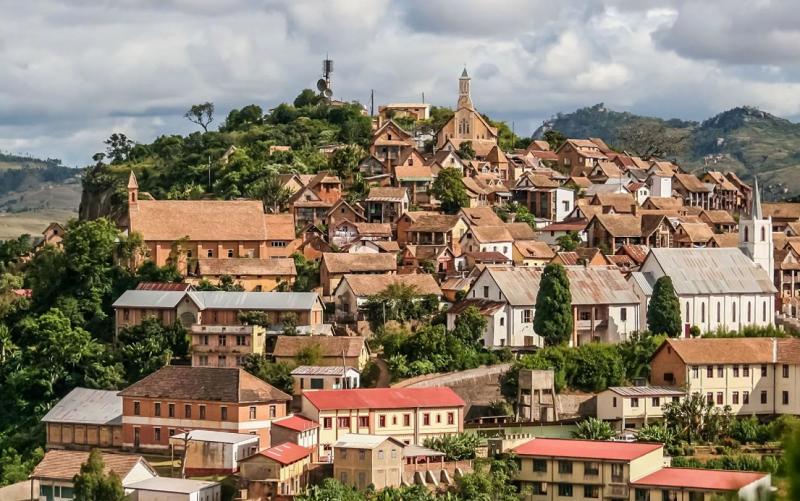 город антананариву