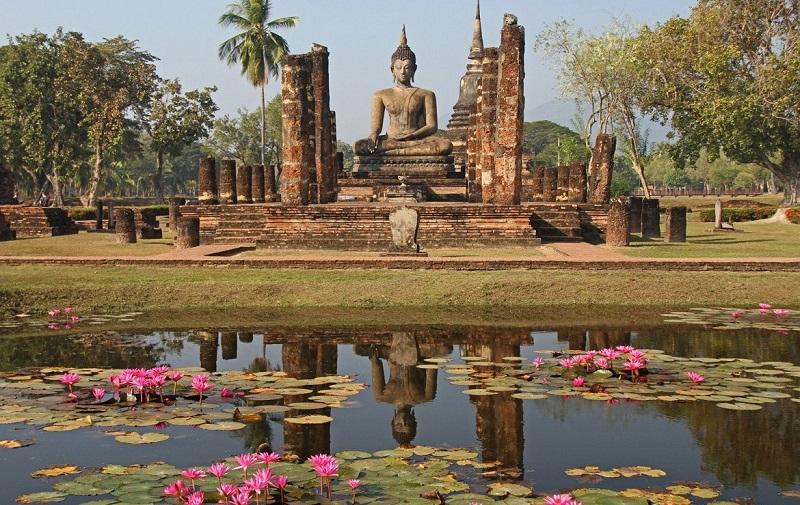 город сукотаи таиланд