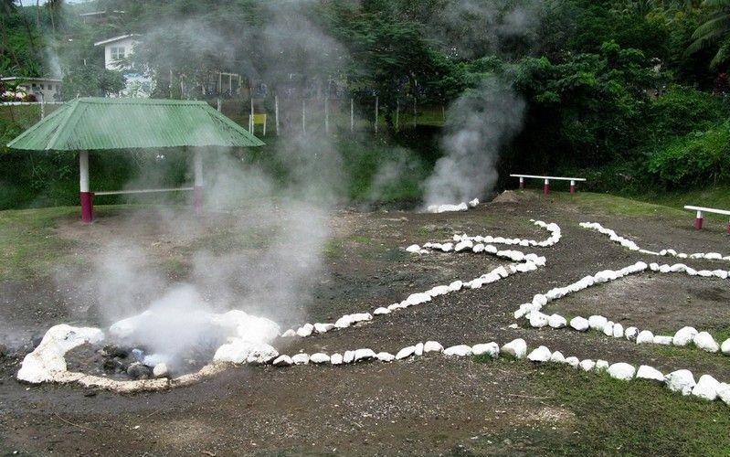 горячие источники савусаву