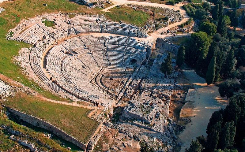 греческий театр в сиракузах