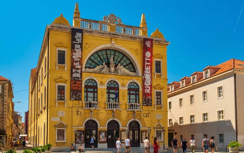 хорватский национальный театр сплит