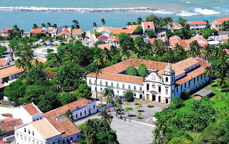 исторический центр города олинда