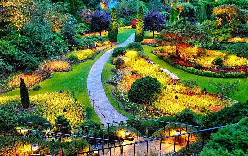 королевский ботанический сад в парадении