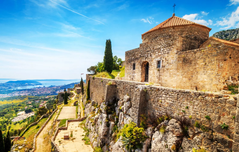 крепость клис хорватия