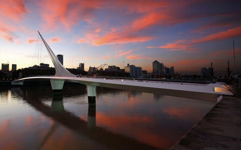 мост женщины буэнос-айрес