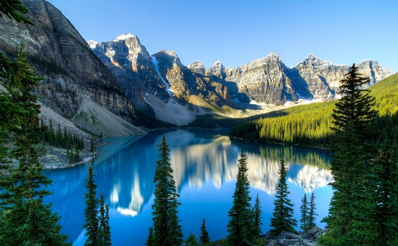 скалистые горы канада