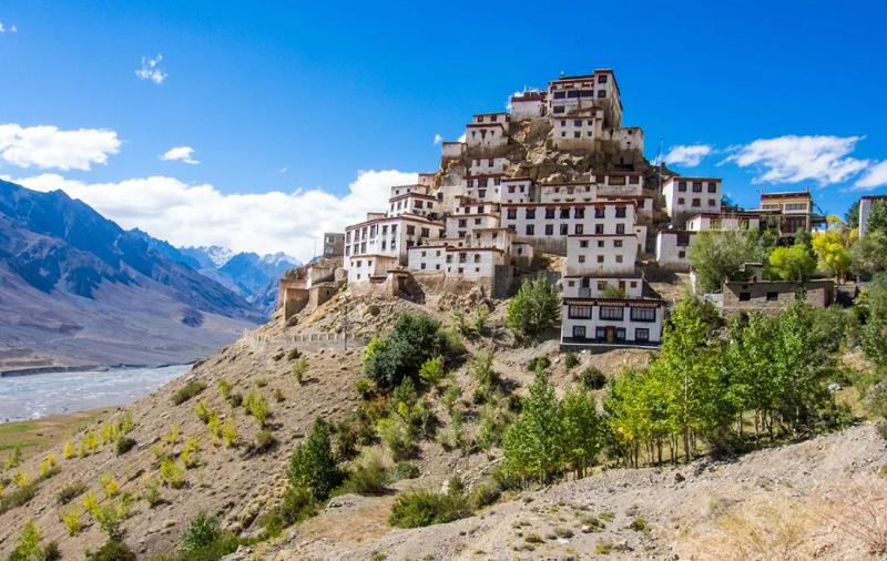 тибетский монастырь кей гомпа