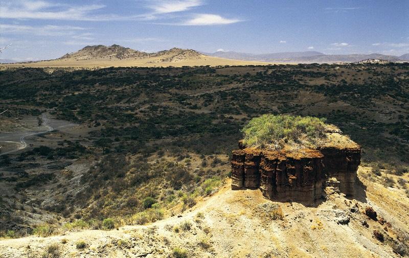 ущелье олдувай в танзании