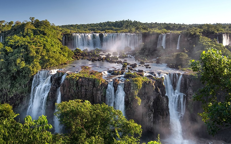 водопад адам и ева бразилия