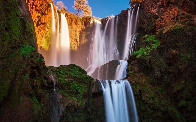водопад узуд марокко
