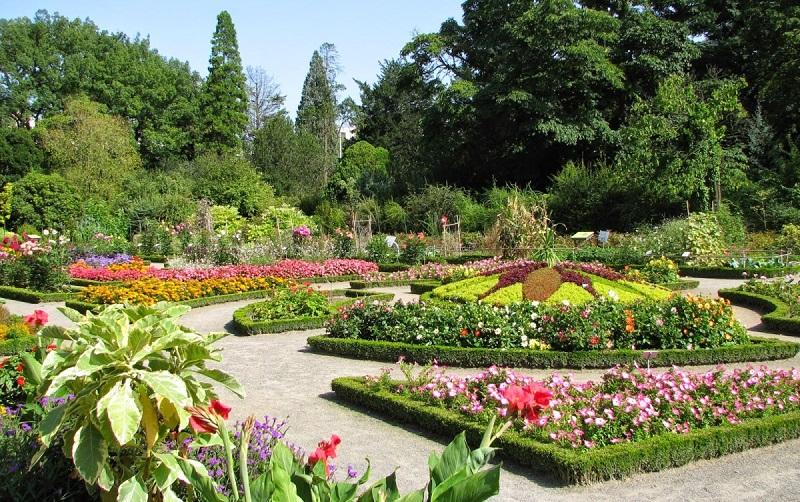 ботанический сад тет д'ор