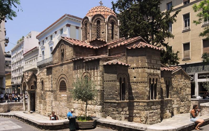 церковь панагия капникарея