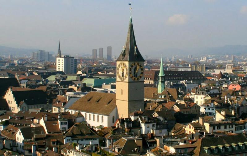 церковь святого петра цюрих