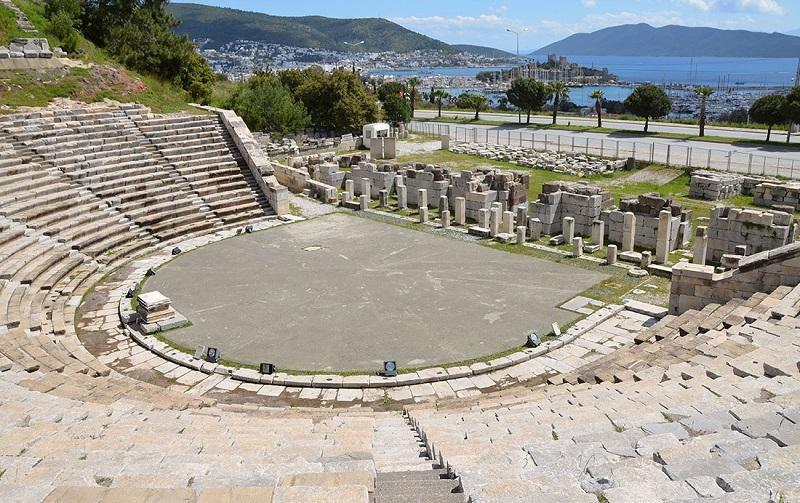галикарнасский амфитеатр