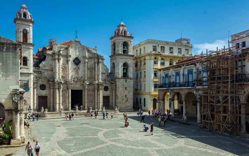 кафедральный собор гаваны куба