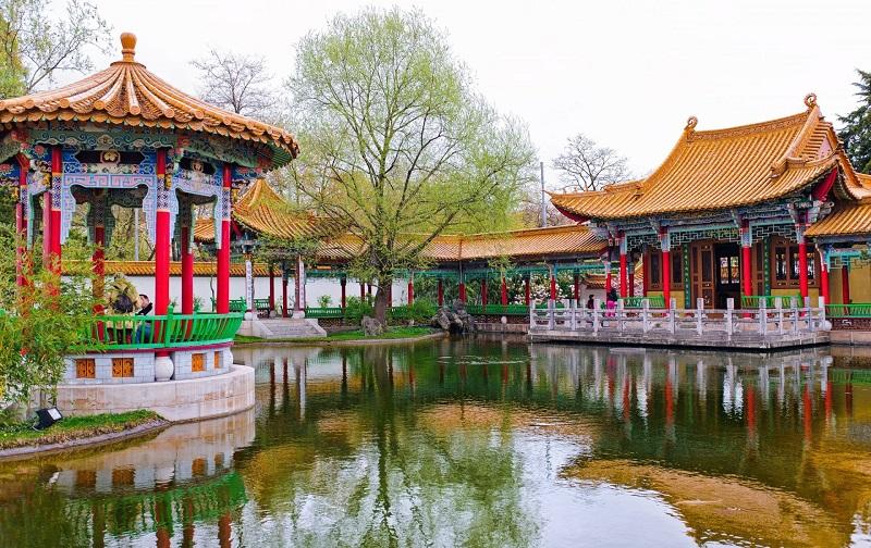 китайский сад цюриха
