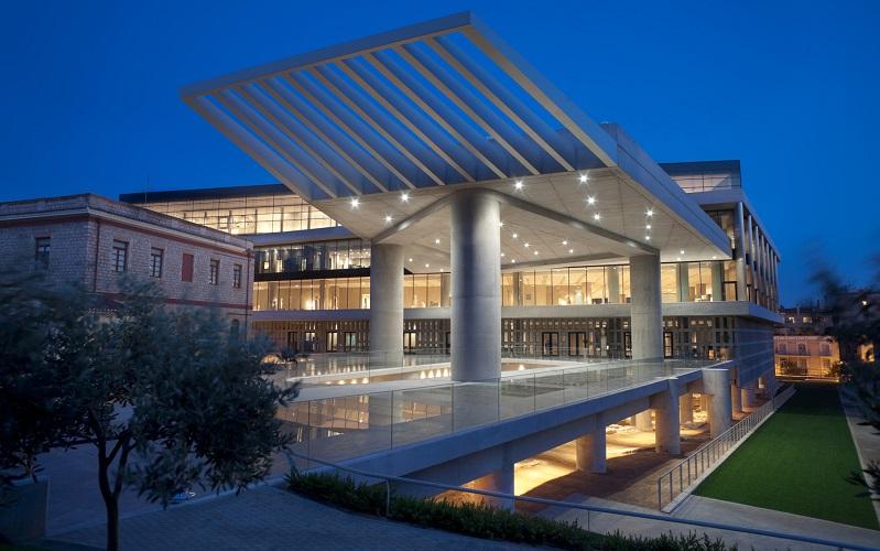новый музей акрополя афины