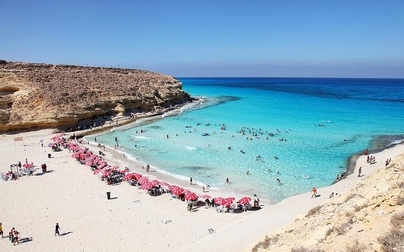 пляж агиба египет