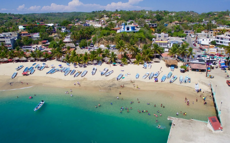 пуэрто-анхель курорт