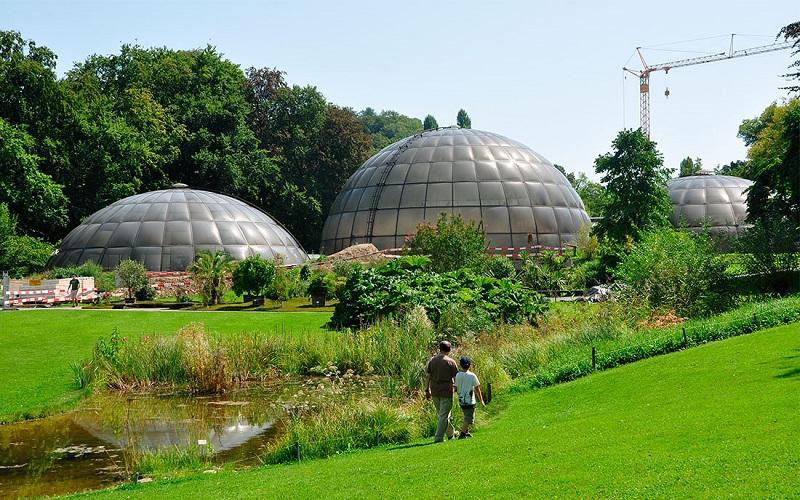 старый ботанический сад цюриха