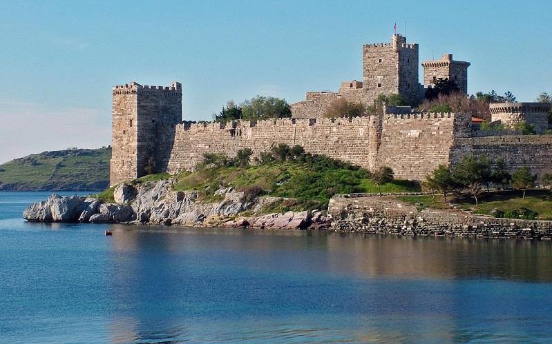 замок святого петра бодрум