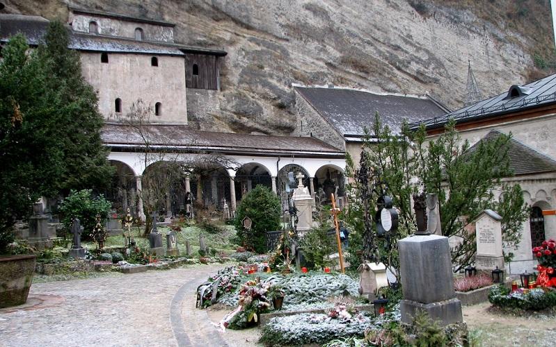 кладбище святого петра в зальцбурге